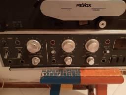 Gravador de rolo revox b77