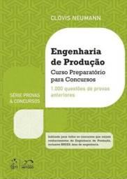 Livro Engenharia de Produção - curso preparatório para concursos