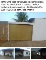 Alugo uma casa no bairro morada nova em Uberlândia m g