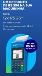 Maquina de passa cartão mercado pago point pro2