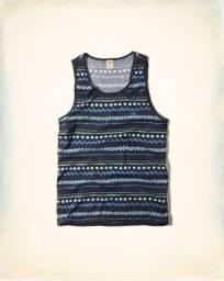 Camisetas Regatas Hollister Originais masculinas