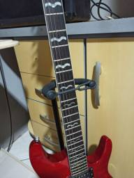Guitarra Super Strato Seminova T-Johnson com Floyd Rose