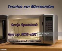 micro-ondas técnico