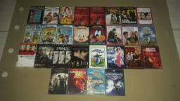 Lote de DVDs Originais Gêneros Variados  com 28 Peças.