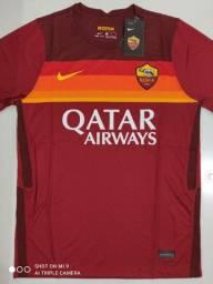 Camisa Roma Home Nike 20/21 - Tamanhos: P, G, GG