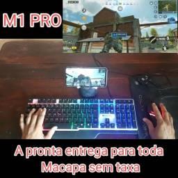 Conversor e mobilador com teclado e mouse gamer
