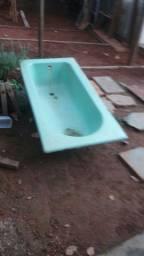 Banheira de ferro fundido