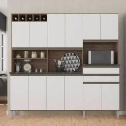 Armário Cozinha Kit Malbec - Preço Fábrica