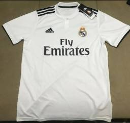 Camisa do Real Madrid Adidas Original Importada Temp 2018 Entrego