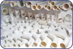 Vendo lote de tubos e conexões hidráulicas (Branca P/ Esgoto + Irrigação))