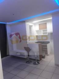 Apartamento para Locação em Uberlândia, Laranjeiras, 2 dormitórios, 1 banheiro, 1 vaga