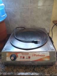 Máquina de crepe, tapioca, omelete, panqueca.
