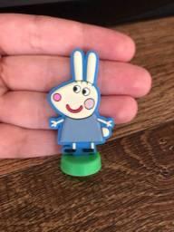 Troca de miniatura ovo surpresa peppa pig