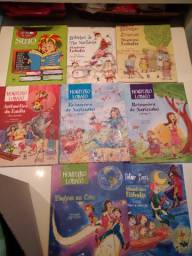 8 livros Sitio do Pica Pau Amarelo