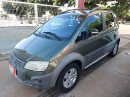 Fiat Ideia Adventure Completo 1.8 Flex 4 Portas Cinza 2008