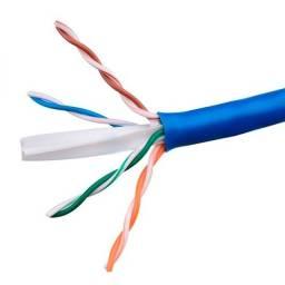 Cabo de Rede Ct6 Azul, Internet Acima de 100 megas, Enviamos Pronto para uso.