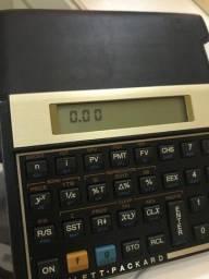 Calculadora HP 12C Gold - Com capinha de couro