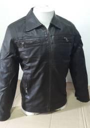 Jaquetas couro masculino