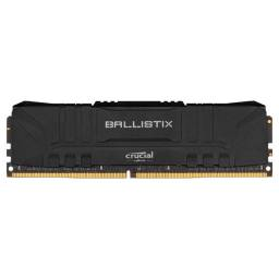 Memória Crucial Ballistix 8GB, DDR4, 3000Mhz, CL15, Preto ou 12X R$ 27,74