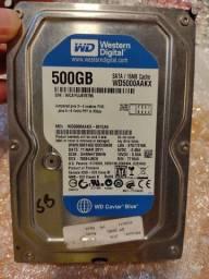 HD de 320gb e 500gb