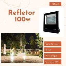 Holofote Refletor 100w Garantia 1 ano