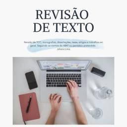 Revisão de texto