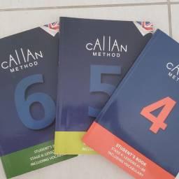 Livros Callan Method 4, 5 e 6
