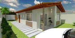 Casa de 69m², 3 quartos com suíte, individual em Jardim Campo Grande Nova