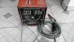 Transformador de solda Bambozzi NM 250A turbo 110/220V R$320,00