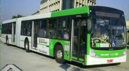 Onibus bi articulado motor volvo 30 metros