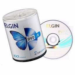 DVD-R 47 Gb 8x - 16x 120 Min. Elgin Com 100 Un
