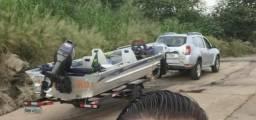 Troco carro e barco em caminhonete - 2013
