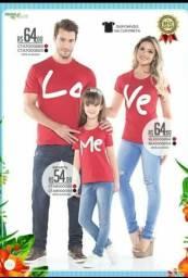 Lindas camisas Loveme