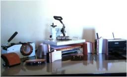 Prensa Térmica 8 em 1 + Impressora