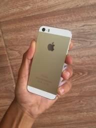 IPhone 5s gold conservado 16gb com nota