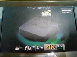 Tv Box Aparelho Smart Netflix Google Facebook Wifi 4k Chrome