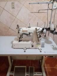 Máquina de costura industrial- SINGER GALONEIRA