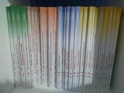 Coleção de livros cursinho Objetivo2018