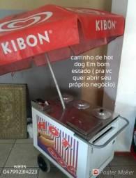 Carrinho hot dog Em bom estado ( pra vc quer abrir seu próprio negócio)