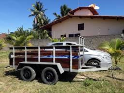 Carrocinha com freio, 2,65m comp