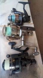 Molinete usados para pesca
