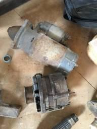 Alternador e motor de partida