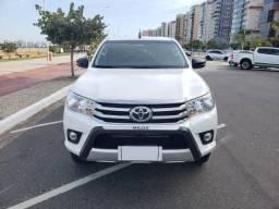 Toyota Hilux Cabine Dupla SR diesel 4x4 aut 31 mil km imperdível - 2018