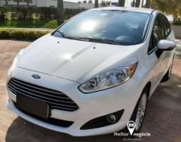 Ford Fiesta Sedan 1.6 Tit. Plus Flex Aut. Branco - 2015