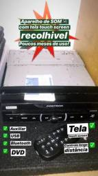 Aparelho de Som ? TELAS Touch Screen