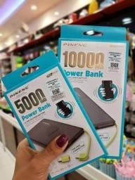 Pineng Bateria Portátil 10.000 Mah Preto