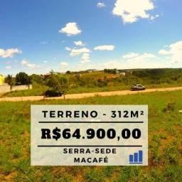 MR - Oportunidade!!! Terreno em Macafé no Residencial Centro da Serra