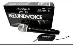 Microfone sem fio Soundvoice mm-113<br>