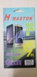 3 Capas Silicone Zenfone Zoom Zx551ml + 1 Película de vidro