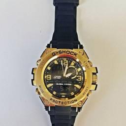 Relógios Masculino G Shock Caixa de Aço